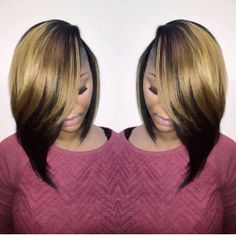 ***Try Hair Trigger Growth Elixir*** ========================= {Grow Lust Worthy Hair FASTER Naturally with Hair Trigger} ========================= Go To: www.HairTriggerr.com =========================       Love this 2 Tone Asymmetrical Bob!