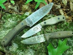 Camp-Lore knives in Action- Day in the Woods