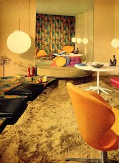 Seventies home decor.