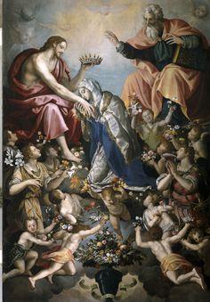 Coronation of the Virgin / Coronación de la Virgen / Incoronazione della Vergine // 1593 // Alessandro Allori // Galleria dell'Accademia di Firenze