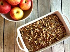 Apple, Cranberry and Walnut Crumble