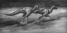 Carnotaurus-assbiter by StephenSomers.deviantart.com on @DeviantArt