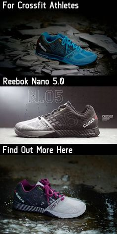 Reebok Nano 5.0 for CrossFit Athletes around the world. Training just moved up a gear.