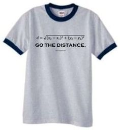 Go the Distance, the distance formula from the pythagorean theorem
