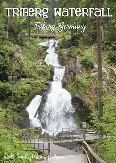 Triberg Waterfall – Triberg, Germany in the Black Forest. It's about 3 hours 34 mins from Spangdahlem, and 2 hours 43 mins from Ramstein.