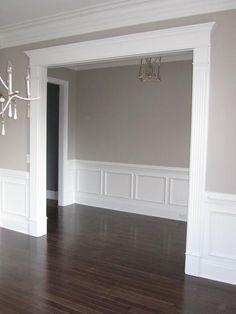 Home Interior Salas Cased Openings Home Room Design, Home Interior Design, Interior Livingroom, Home Renovation, Home Remodeling, Home Living Room, Living Room Decor, Hallway Designs, Style Deco