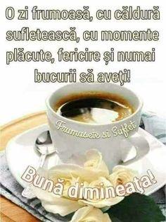 Imagini buni dimineata si o zi frumoasa pentru tine! - BunaDimineataImagini.ro Tea Cups, Tableware, Religion, Gift, Dinnerware, Dishes, Teacup, Tea Cup, Cup Of Tea