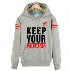 Equipe NÓS manter seu sonhos hoodie para jogo outono League of Legends camisola