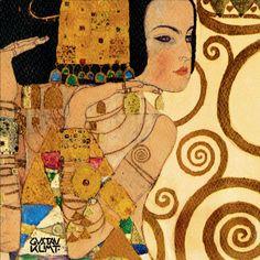 Klimt Gustav - Expectation Stoclet Frieze c 1909