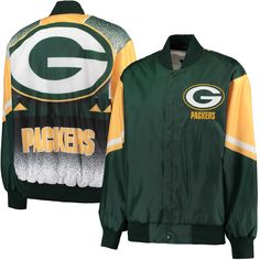 NFL Green Bay Packers G-III Sports by Carl Banks Real Hype Jacket - Green cbea8f99c92
