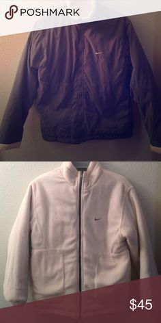 ⚡️NWOT Nike Reversable Coat Size L. Reversable. Really warm! Nike Jackets & Coats Puffers