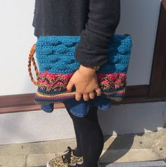 cooco crochet clutch bag