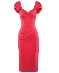 Our Stop Staring! Billion Dollar Baby is the ultimate bombshell dress. This vintage style dress is super comfortable and holds you up in all the right places. Stop Staring, Best Stretches, Vintage Style Dresses, Bombshells, Baby Dress, Cap Sleeves, Fashion Dresses, Vintage Fashion, Bodycon Dress