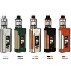 WISMEC Predator 228 TC Kit With Elabo Tank, powered by dual 18650 cells with maximum output 228W, comes with a unique hidden fire button. Elabo Tank supports both Triple head and NS Triple head, adopting top-filling and bottom airflow.