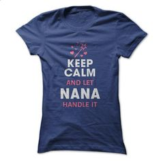 Let NANA handle it... - #black hoodie mens #t shirt websites. SIMILAR ITEMS => https://www.sunfrog.com/No-Category/Let-NANA-handle-it-20059816-Ladies.html?id=60505