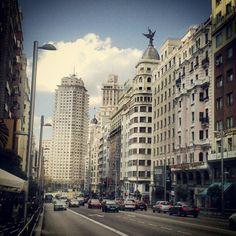 Centro de Madrid ---> Street View, Instagram Posts