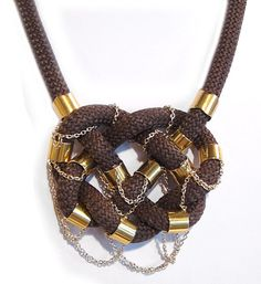 Braided Climbing Cord Necklace