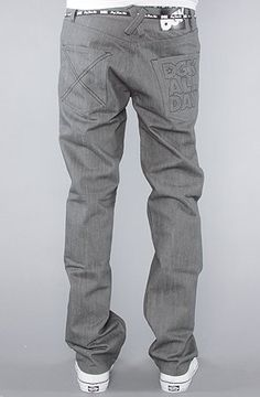 DGK The All Day 2 Slim Fit Jeans in Grey Raw Wash,Denim for Men $55.00