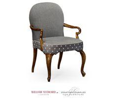 Gunby dining armchair #hpmkt #jcfurniture #jonathancharles #Furniture #InteriorDesign #decorex #williamyeoward
