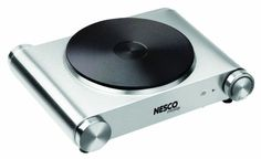 Stainless Steel Electric Burner 1500w Portable Stove Counter Hot Plate Cook New #Nesco