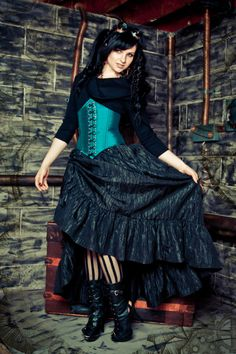 Hey, I found this really awesome Etsy listing at http://www.etsy.com/listing/101566546/steampunk-victorian-skirt-pirate