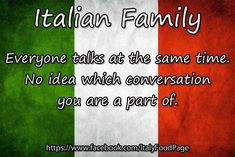 Yeah, you typically engage in two or three conversations at a time, that's how that works. #italianhumor