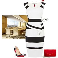 A fashion look from January 2015 featuring stiletto pumps, furla purses and bangle jewelry. Browse and shop related looks.