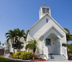 The Community Chapel of Melbourne Beach Florida Photograph  - The Community Chapel of Melbourne Beach Florida Fine Art Print