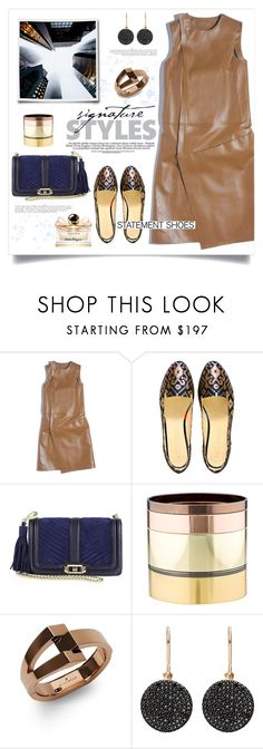 """""""Statement Shoes"""" by frechelibelle ❤ liked on Polyvore featuring Balenciaga, Boté a Mano, Rebecca Minkoff, Gemma Redux, WiseWear, Astley Clarke, Anja and Salvatore Ferragamo"""