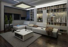 Obývací pokoj inspirovaný minimalismem | AŤÁK DESIGN
