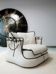 Bag chair on Design and fashion recipes