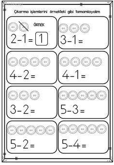 Printable Preschool Worksheets Grade Worksheets Kindergarten Worksheets First Grade Math Worksheets For Kids Math Resources Math Activities Math Games Touch Math Printable Preschool Worksheets, Kindergarten Math Worksheets, Preschool Learning Activities, Preschool Math, English Lessons For Kids, English Worksheets For Kids, Subtraction Kindergarten, Numbers Preschool, Math For Kids