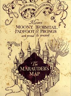 #MaraudersMap Don't we all swear we're up to no good sometimes?