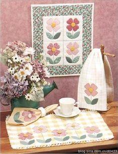 [转载]纸型分享---花朵壁饰