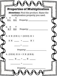 math worksheet : 1000 ideas about associative property on pinterest  properties  : Associative Property Of Multiplication Worksheets Free