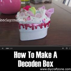 How To Make A Decoden Box ►► http://www.diycraftzone.com/how-to-make-a-decoden-box/?i=p