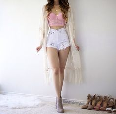 45 best summer outfit ideas that are big on style, low on effort 22 em 2019 Cool Summer Outfits, Cute Casual Outfits, Girly Outfits, Simple Outfits, Stylish Outfits, Teenage Outfits, Teen Fashion Outfits, Cute Fashion, Outfits For Teens