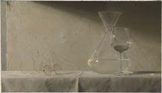 Jacob Collins - Still LifeGlasses | Oil on Canvas | 20'' x 27 3/4'' | 2011