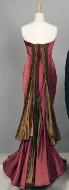 ~Jean Desses   Haute couture, circa 1945/1947~