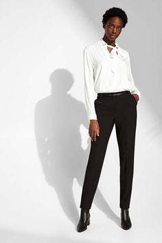 Blazer & Anzüge für Damen im Online Shop kaufen   ESPRIT Business Hose, Stretch Pants, Blazer, Mix Match, Stretches, Normcore, Pure Products, Suits, Collection