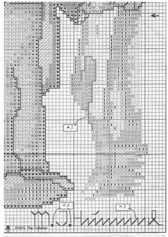 """Little Fiddler"" Hummel cross stitch pattern  -  1C"