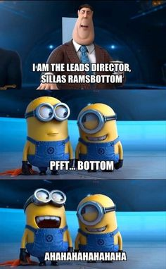 My favorite part of the movie  • DESPICABLE ME 2 •