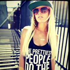 Chanel west coast swagggin-----love this shirt and love this girl!