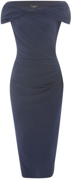 Pied A Terre Blue Slinky Knot Jersey Dress (We've not seen Kate wear Pied a Terre apparel, they have some nice looks.)