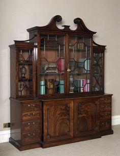 By Thomas Chippendale & Son Victorian Furniture, My Furniture, Antique Furniture, Furniture Design, Georgian Interiors, Historic Homes, Bookcases, Period, Interior Design