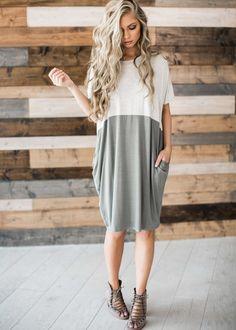 stripe dress, stripes, summer dress, hair, blonde hair, mothers day, sunday dress, style, fashion, spring, spring dress, colorblock dress