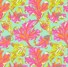Tula Pink - Tabby Road - Eek a Mouse - Quilt Fabrics from www.eQuilter.com