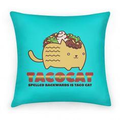 Tacocat spelled backwards is still taco cat