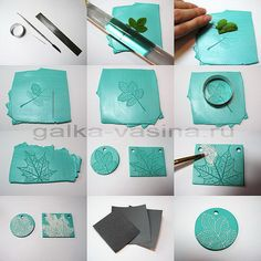 DIY Polymer Clay Pendant from galka vasina's Flickrstream here.. If you've ever wanted to try out polymer clay, this is a really good tutorial/pictorial on how to create a simple pendant. TIP: Go on the internet to see how to use sandpaper (going...