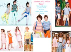 Kids' Fashion : Summer Trend Report on http://blog.gifts.com